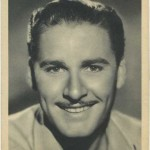 Errol Flynn 1938 Philadelphia Record Supplement Photo