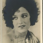 Georgia Hale 1920s Fan Photo