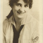 Helen Holmes 1916 Water Color Company Premium Photo