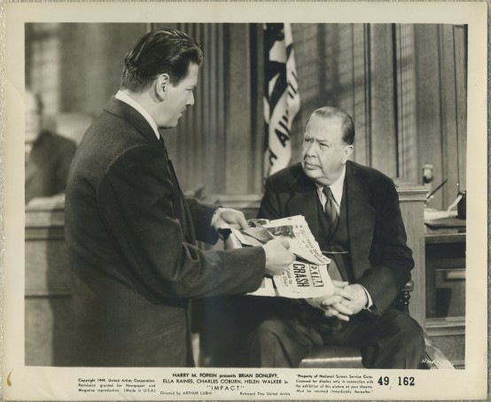 Charles Coburn 1949 Impact Still Photo