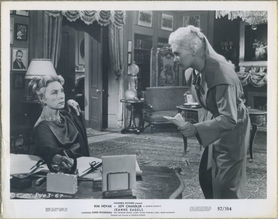 Agnes Moorehead and Kim Novak still photo