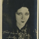 Jocelyn Lee 1920s Fan Photo