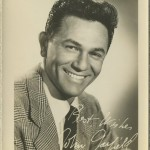 John Garfield 1940s Fan Photo