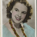Judy Garland 1930s Colourgraph Series Postcard