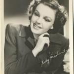Judy Garland 1940s EKC Postcard