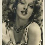 Lana Turner 1940s EKC Postcard