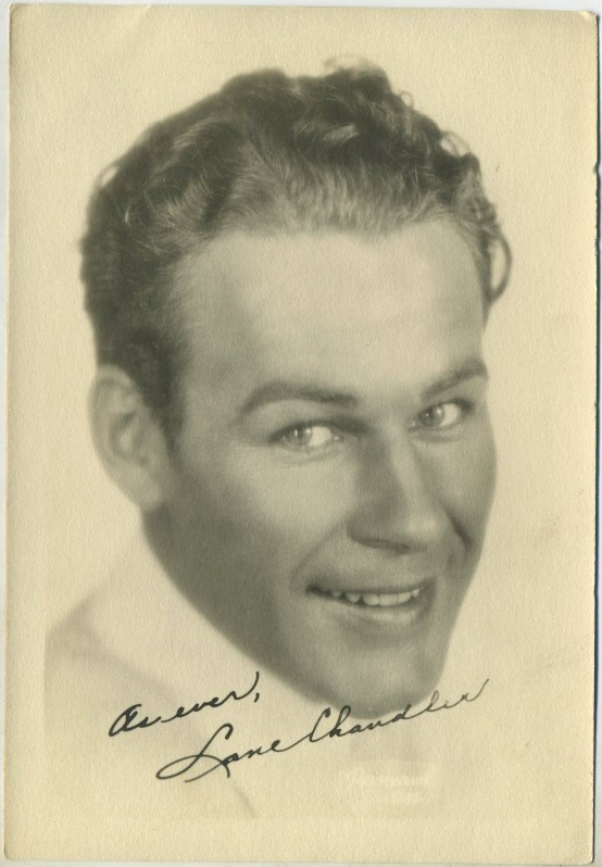 Lane Chandler 1920s Fan Photo