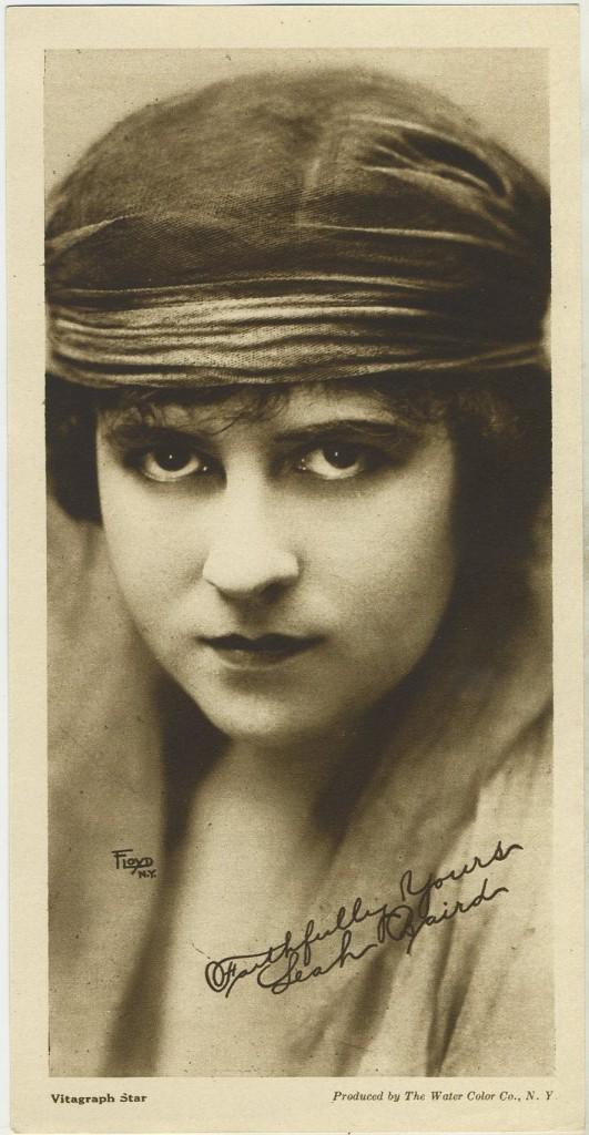 Leah Baird 1916 Water Color Co Premium Photo