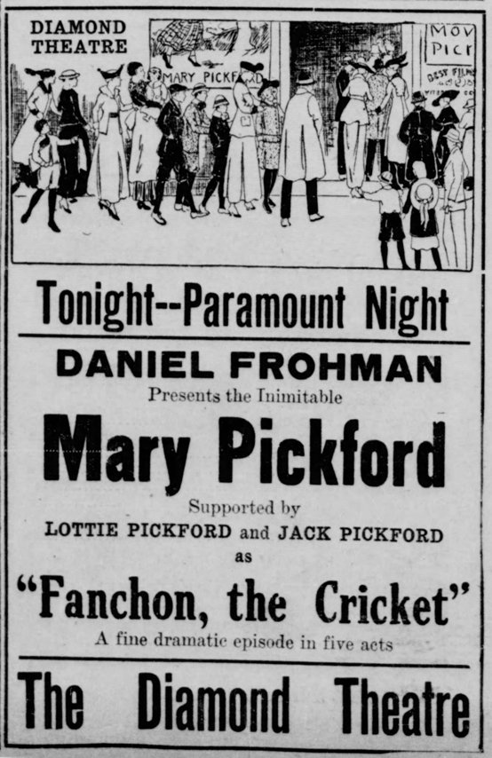 Source: The Evening Review of East Liverpool, OH, June 17, 1915, page 8.