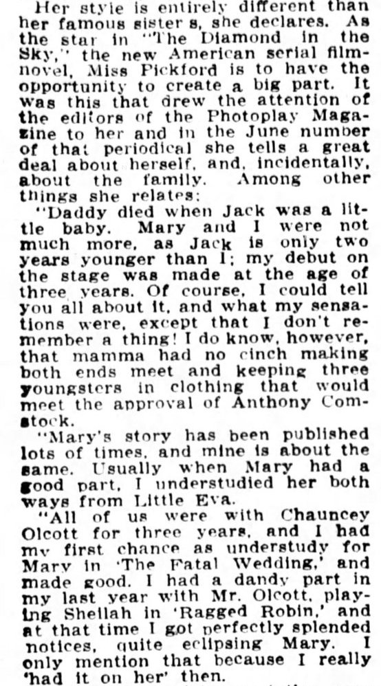 Continued from The Washington Times, May 5, 1915, page 7.