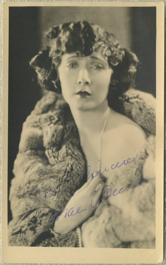 Mae Busch 1920s Fan Photo