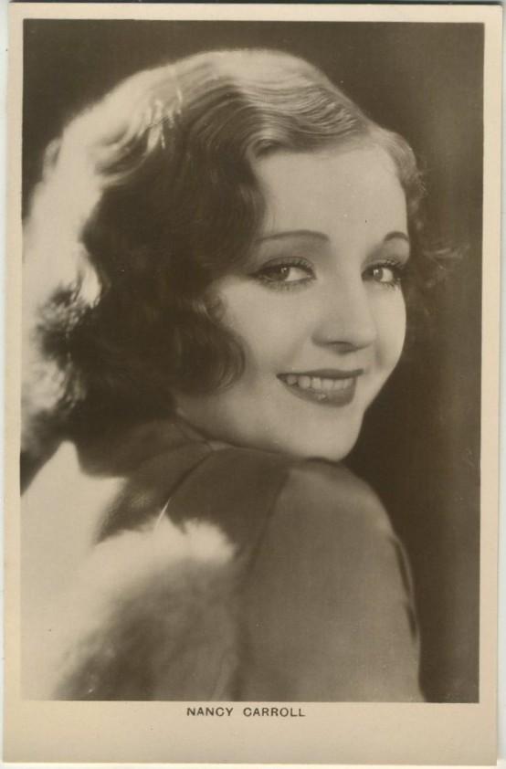 Nancy Carroll 1930s Picturegoer Postcard