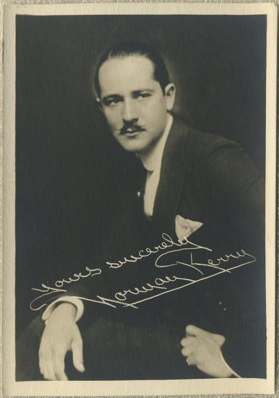 Norman Kerry 1920s Fan Photo