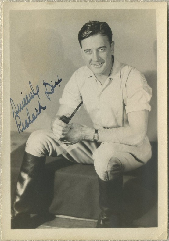 Richard Dix 1920s Fan Photo