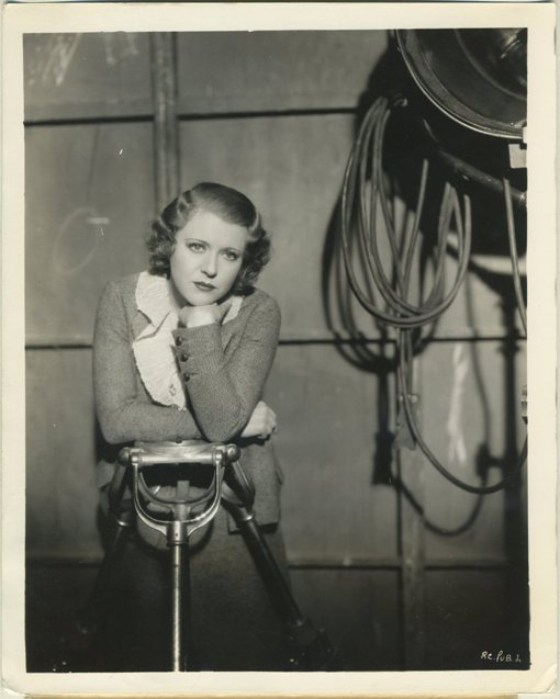 Ruth Chatterton 1930s Warner Bros Promotional Photo