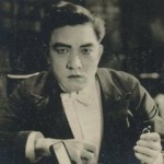 Sessue Hayakawa 1910s Kinema Theater Advertising Card