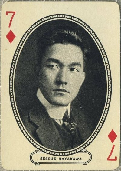 Sessue Hayakawa 1916 MJ Moriarty Playing Card
