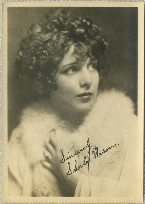 Shirley Mason 1920s Fan Photo
