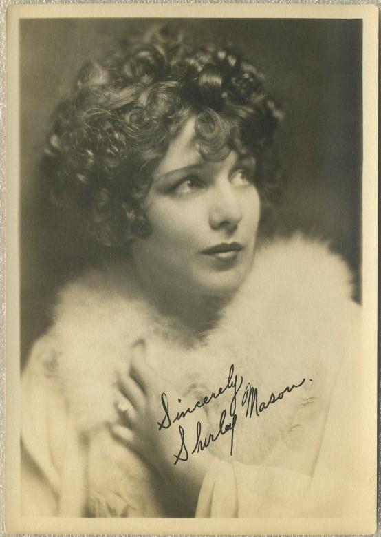 Shirley Mason 1920s Fan Photo