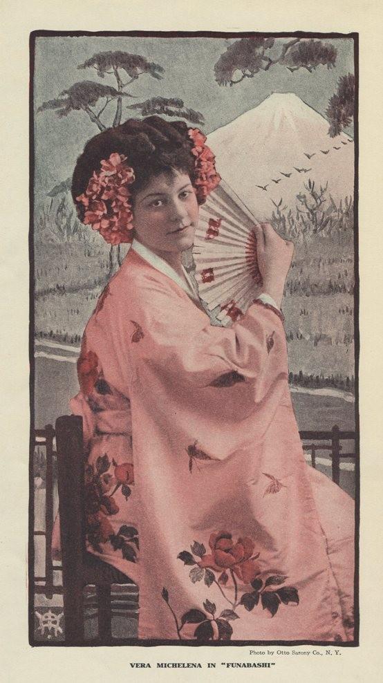 Vera Michelena 1908 Burr McIntosh Photo