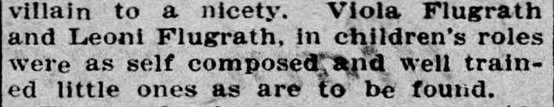 Source: Pittston Gazette (PA), November 9, 1905, page 5.
