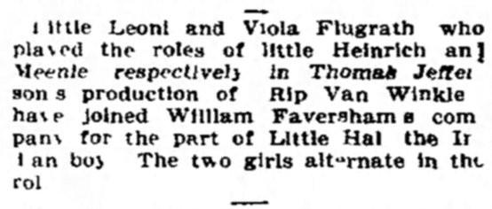 Source: The Washington Post, September 29, 1907, page 10.