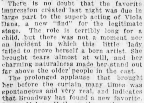 Source excerpted from the Brooklyn Daily Eagle, January 22, 1913, page 7.