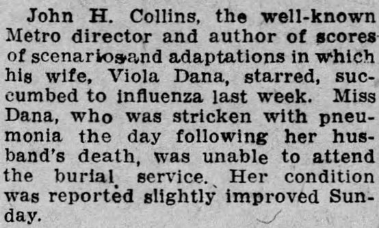 Source: Reading Times (PA), October 28, 1918, page 4.