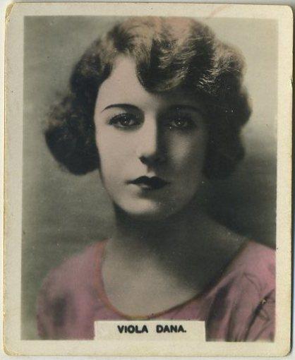 Viola Dana 1927 African Tobacco Manufacturing Trading Card