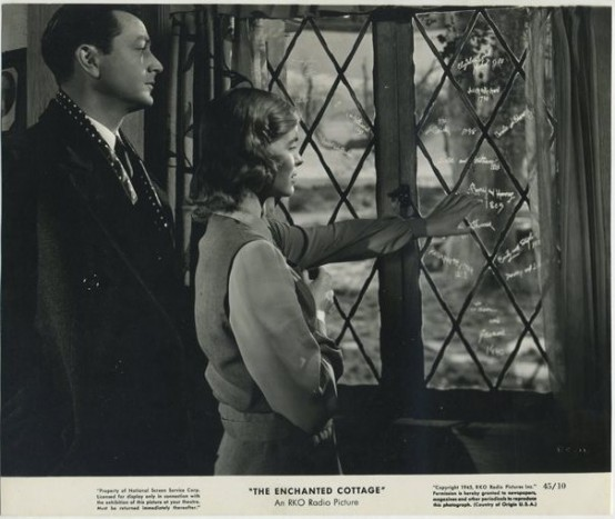 Robert Young and Dorothy McGuire in The Enchanted Cottage