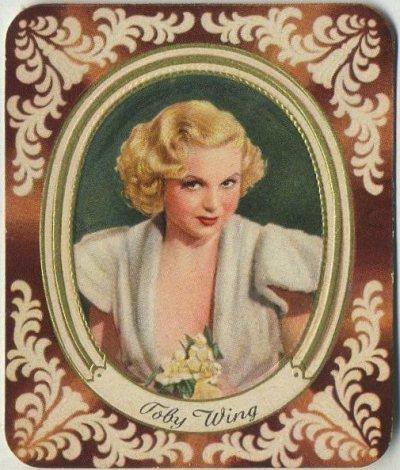 Toby Wing 1930s Garbaty