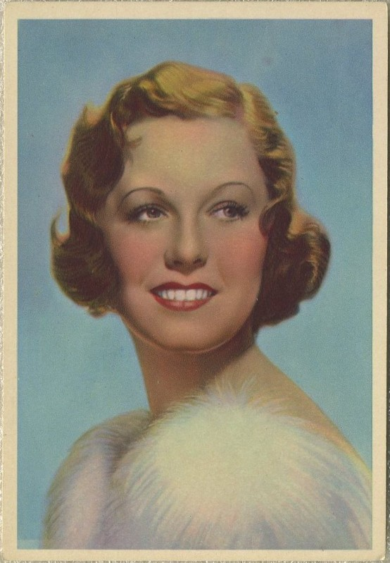 Margaret Sullavan 1930s Godfrey Phillips Postcard