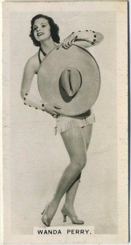Wanda Perry 1937 Carreras Film Stars