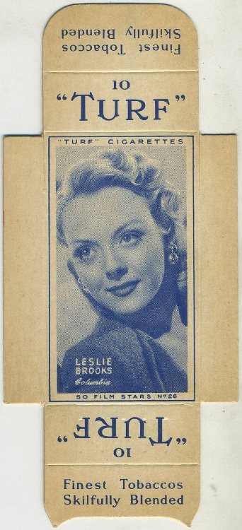 Leslie Brooks 1947 Turf Film Stars
