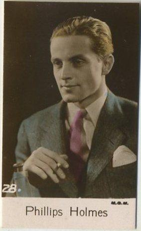 Phillips Holmes 1935 Bridgewater