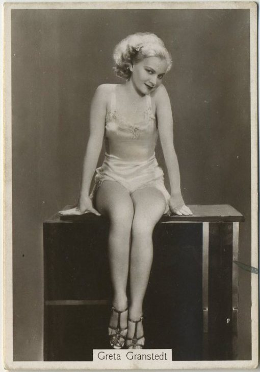 Greta Granstedt 1930s Godfrey Phillips Beauties