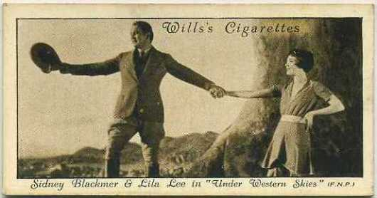 Sidney Blackmer and Lila Lee 1931 Wills