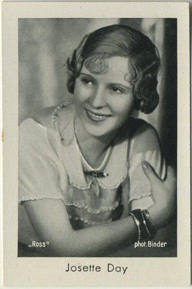 Josette Day Josetti-Filmbilder card