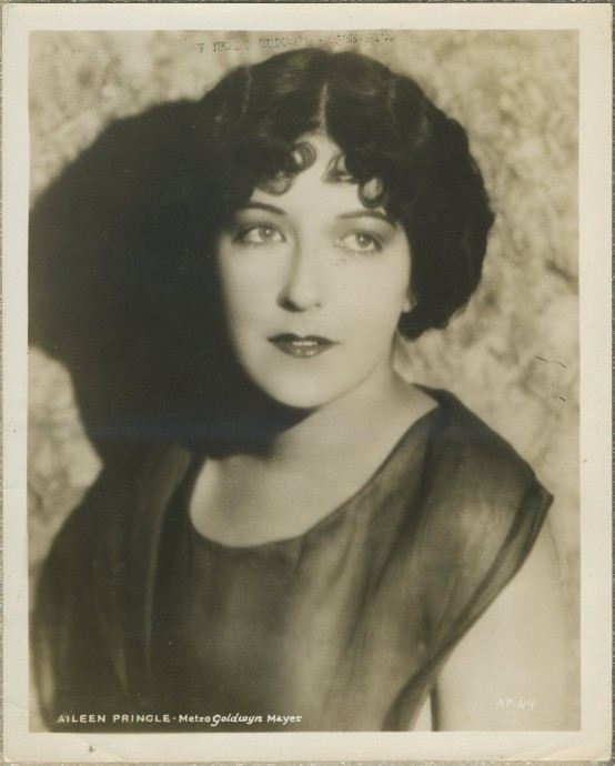 Aileen Pringle 1920s MGM Promotional Photo