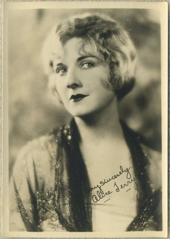 Alice Terry 1920s Fan Photo