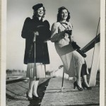 Mary Howard and Ann Rutherford 1938 Promotional Photo