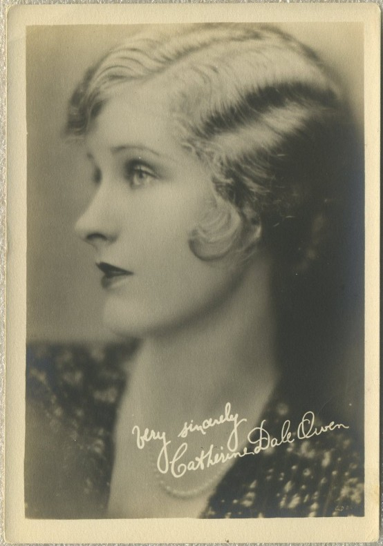 Catherine Dale Owen 1920s Fan Photo