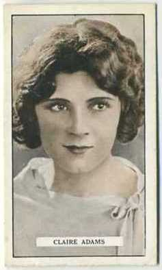 Claire Adams 1926 Gallaher Cinema Stars
