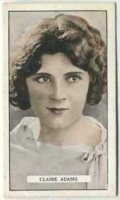 Claire Adams 1926 Gallaher Cinema Stars