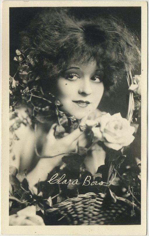 Clara Bow 1920s AZO Postcard