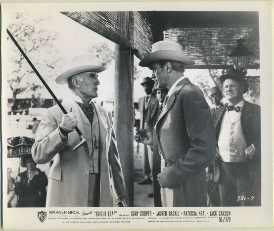 Donald Crisp and Gary Cooper in Bright Leaf