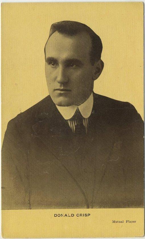 Donald Crisp 1913 Kraus Postcard