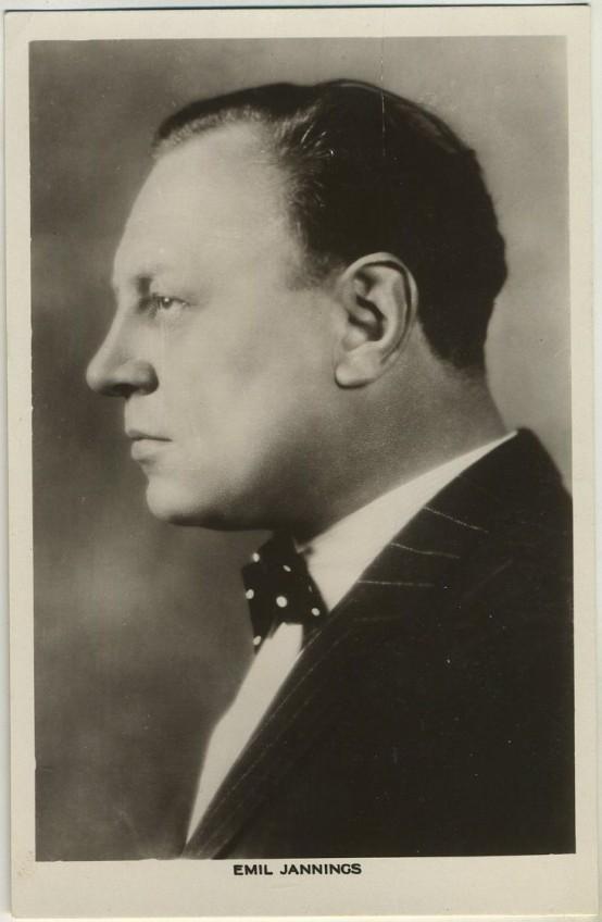 Emil Jannings 1930s Picturegoer Postcard