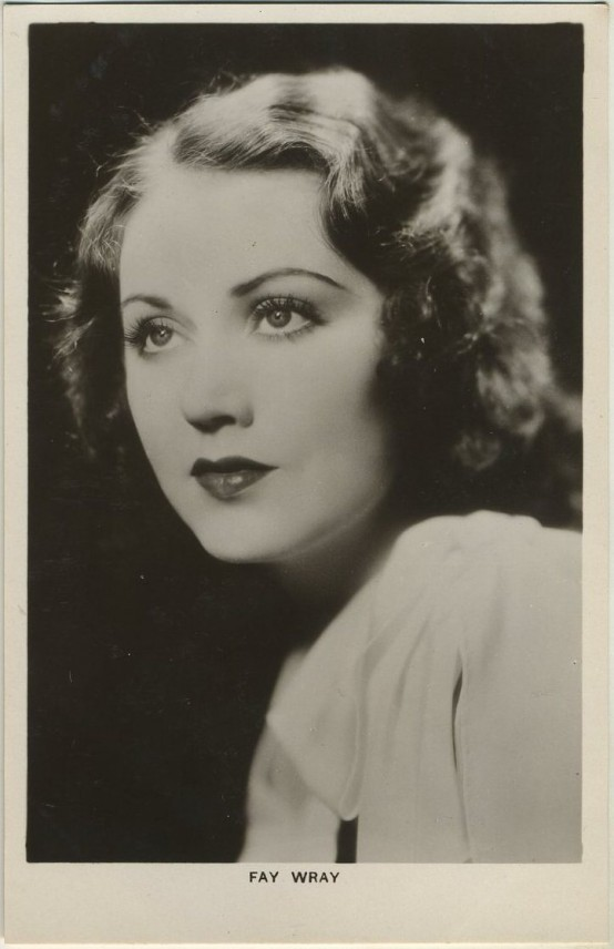 Fay Wray Picturegoer Postcard