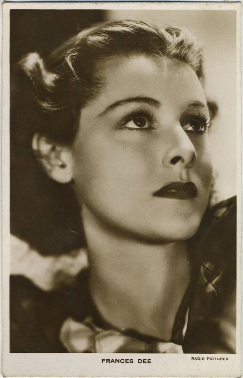 Frances Dee 1930s Picturegoer Postcard